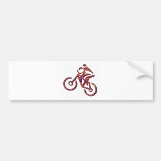 Bike Ol Rougher Bumper Sticker