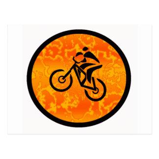 Bike Old Schooler Postcard