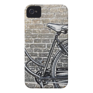 Bike on Brick Wall Case-Mate iPhone 4 Cases