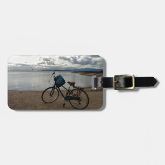 Bike on the Beach Bag Tag