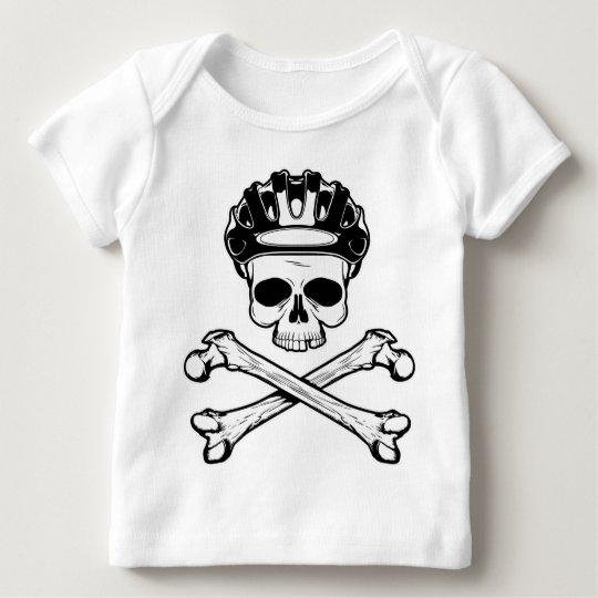 Bike or Die - Bike and Crossbones Baby T-Shirt