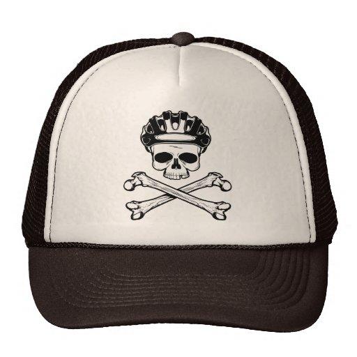 Bike or Die - Bike and Crossbones Mesh Hats