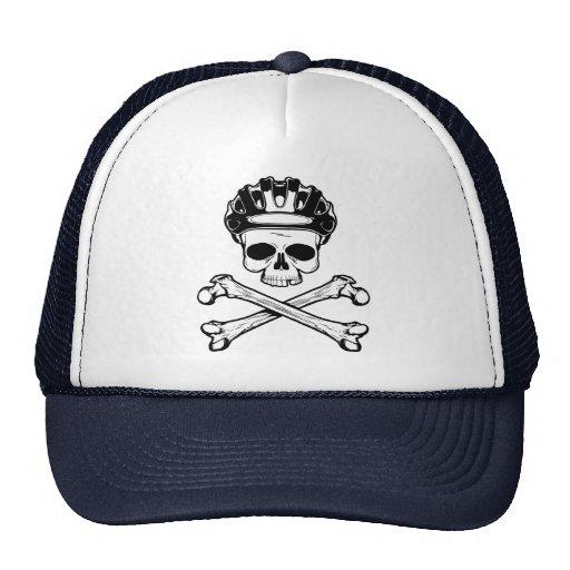 Bike or Die - Bike and Crossbones Trucker Hat