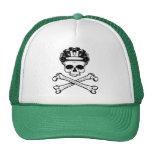 Bike or Die - Bike and Crossbones Trucker Hats