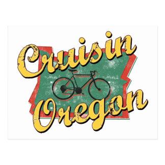 Bike Oregon Cruisin Postcard