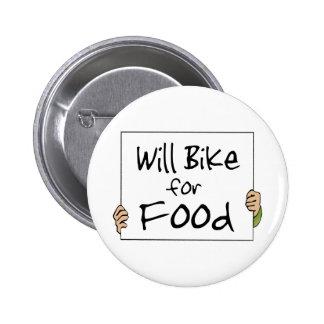 Bike para la comida pin