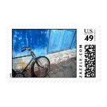 Bike Parking Postage Stamps