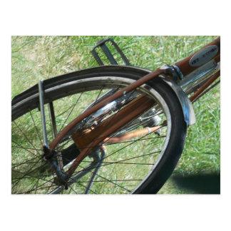 Bike parts postcard