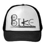 Bike Parts Word Graffiti Urban Design for Cyclists Trucker Hat