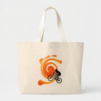 Bike Past Present Tote Bags