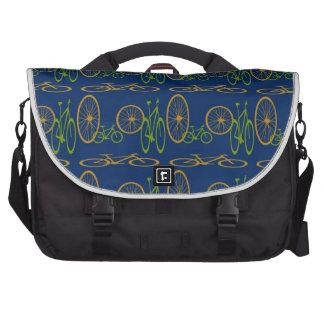 Bike pattern bag for laptop
