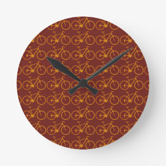 bike pattern for cyclists round clock