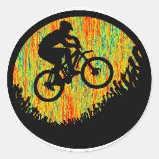 Bike Press Forward Classic Round Sticker