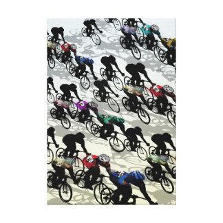 BIKE RACE 2 CANVAS PRINT