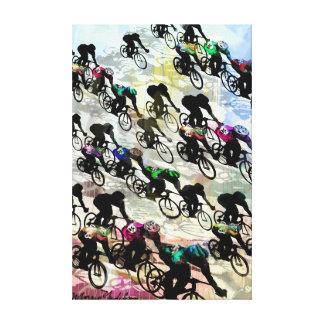 BIKE RACE 3 CANVAS PRINT