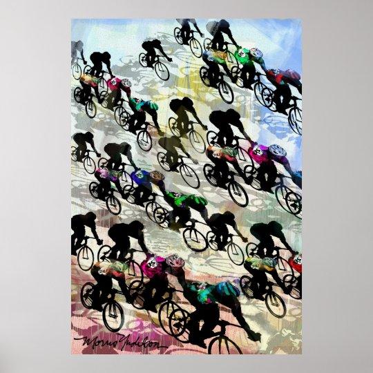 BIKE RACE 3AB POSTER