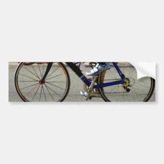 Bike Race Bumper Sticker