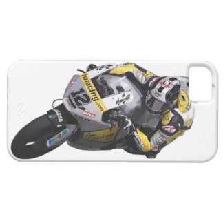 Bike race heroes in action - 'TOM LUTHI' iPhone SE/5/5s Case