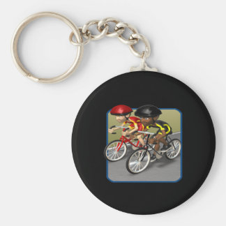 Bike Race Keychain