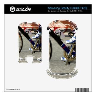 Bike Race Samsung Gravity 3 Decal
