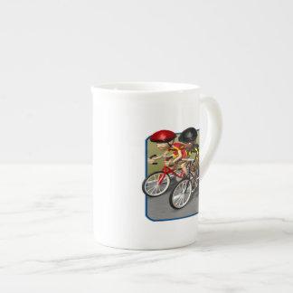 Bike Race Tea Cup