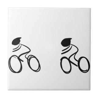 Bike race tile