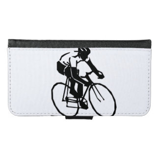 Bike race wallet phone case for samsung galaxy s6