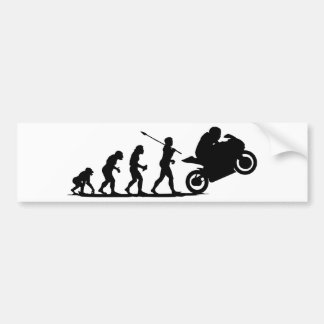 Bike Racer Bumper Sticker