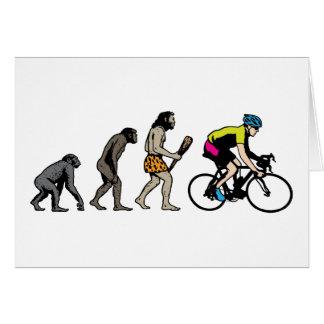 Bike Racer Greeting Card