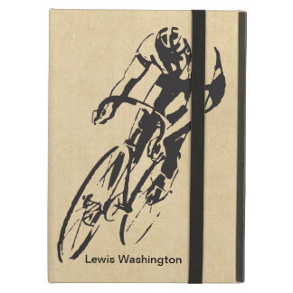 Bike Racing Velodrome Personalized iPad Air Cover