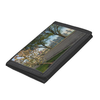Bike Ride Down Solidarity Trifold Wallet