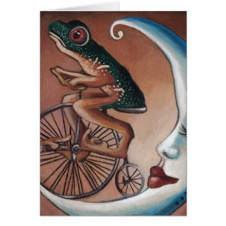 Bike Ride Greeting Card