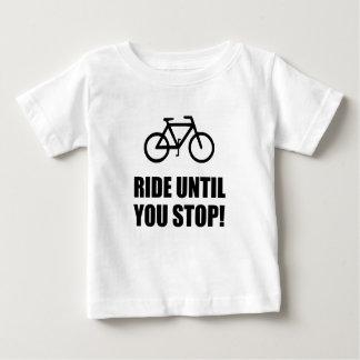 Bike Ride Until Stop Baby T-Shirt