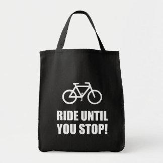 Bike Ride Until Stop Tote Bag