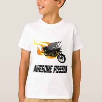 Bike Rider Awesome Possum T-Shirt