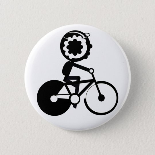 Bike Rider Button