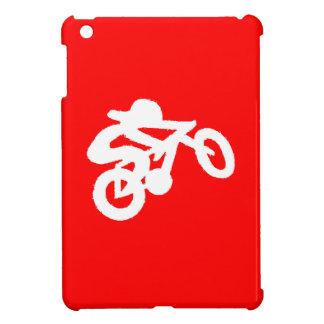 Bike Rider Red iPad Mini Cover