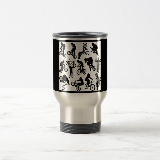 bike-riders coffee mugs