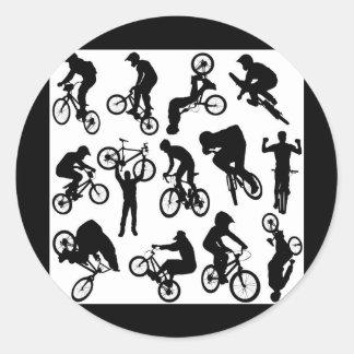bike-riders stickers