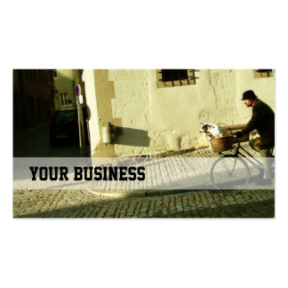 Bike Riding with my Dog Business Card