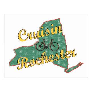 Bike Rochester Bicycle New York Postcard
