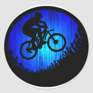 Bike Rock HOP Classic Round Sticker