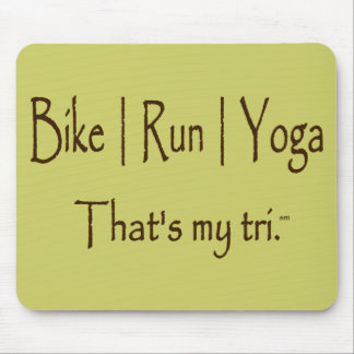 Bike | Run | Yoga Mouse Pad