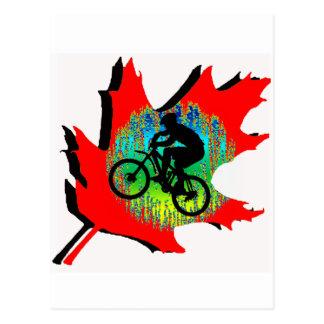 Bike Saint Nick Postcard