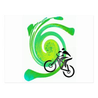 Bike Saint Patrick Postcard
