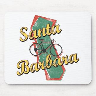 Bike Santa Barbara Bicycle California Mouse Pad