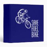 Bike, Save Fuel 3 Ring Binders