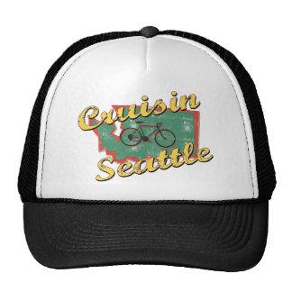 Bike Seattle Cruise Washington Hats