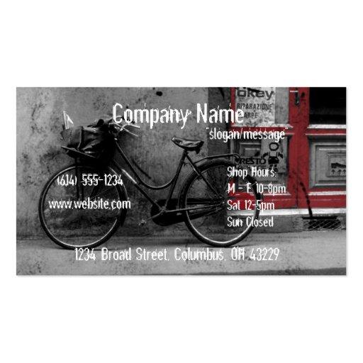 Bike Shop Business Card