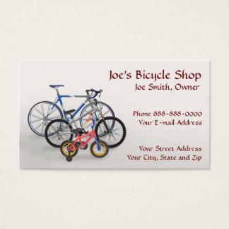 Bike Shop Owner Business Card